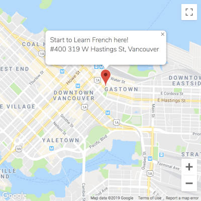 Learn French Map Location