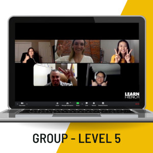 french beginner group course - level 5